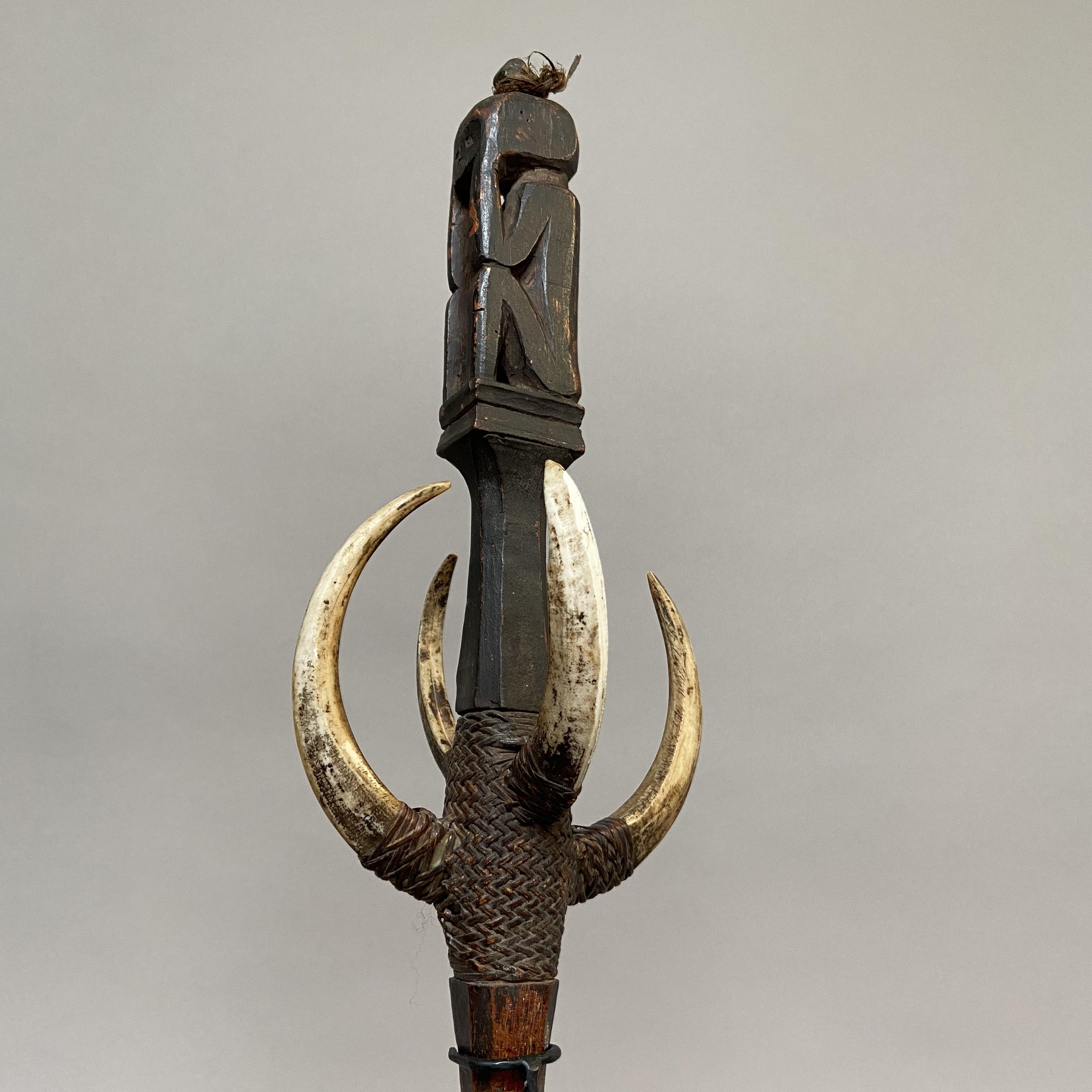 Dayak skull-hook