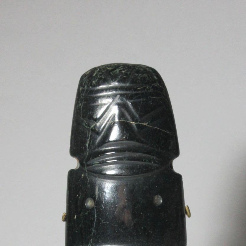 Precolumbian Axe-God Pendant