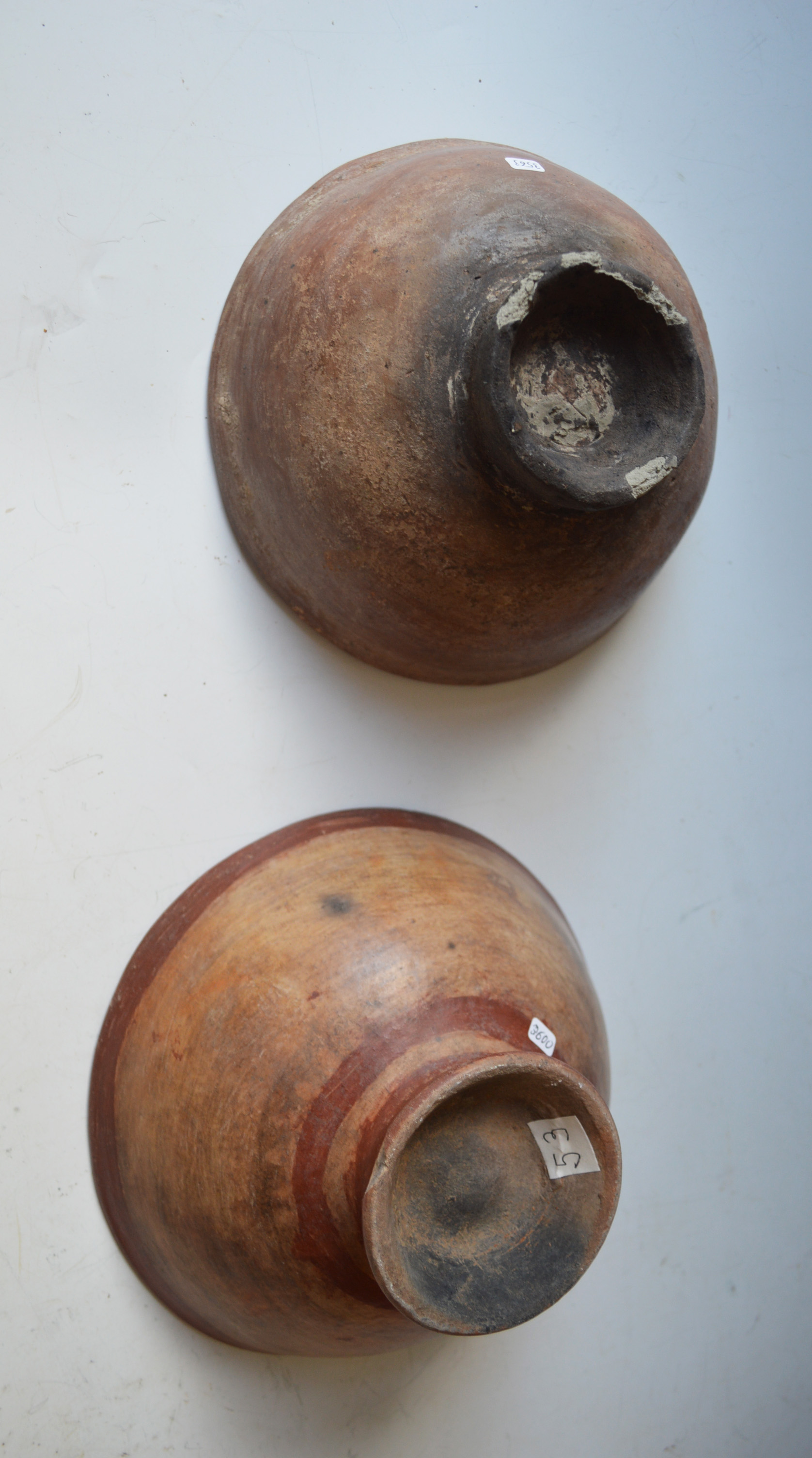 Two Pre Columbian Bowls  North Ecuador / Columbia