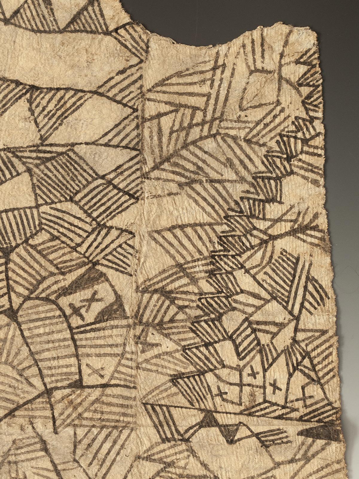 Painted Bark Cloth