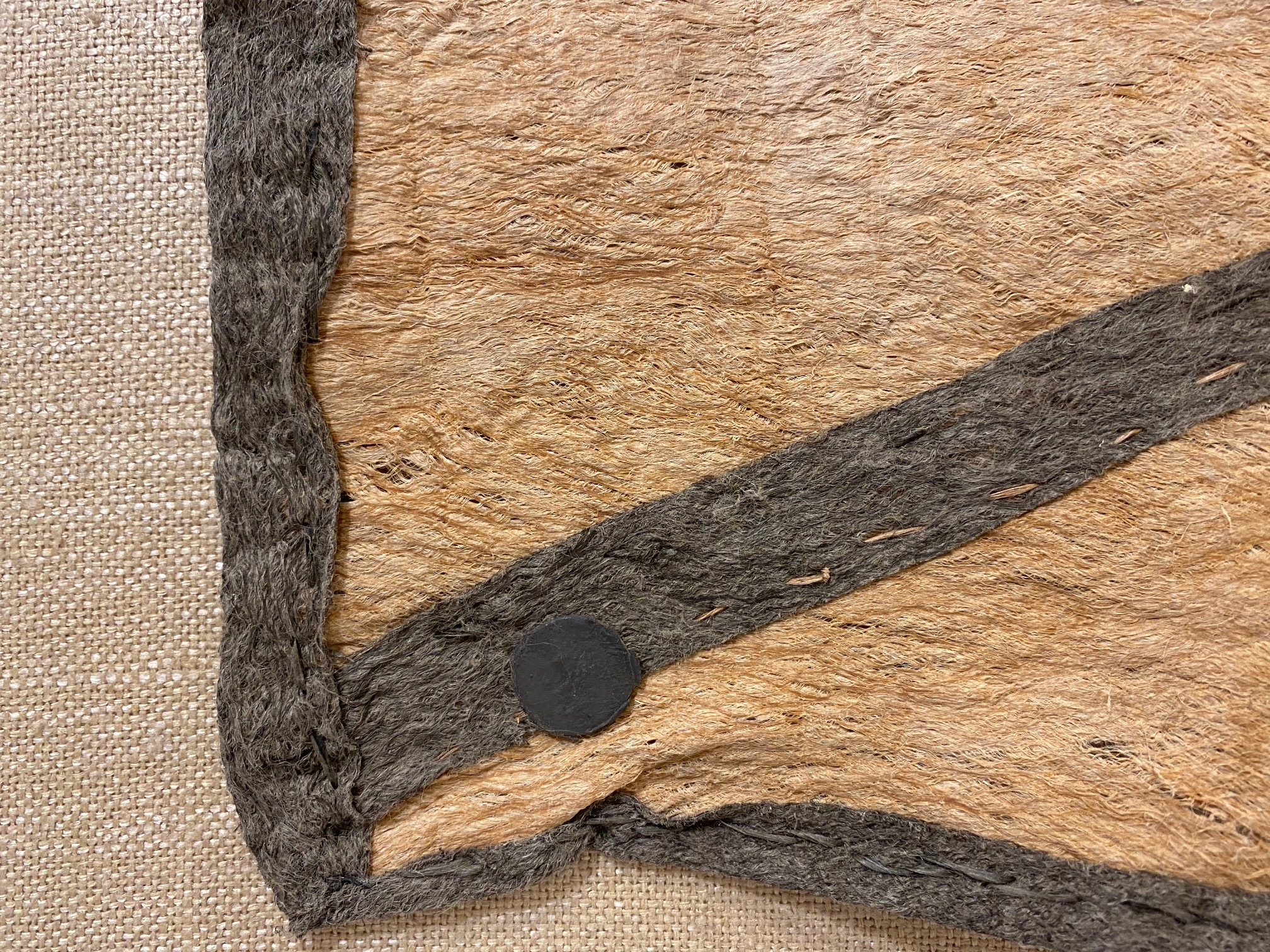 Tapa (Bark Cloth, Nioge), mounted with magnets