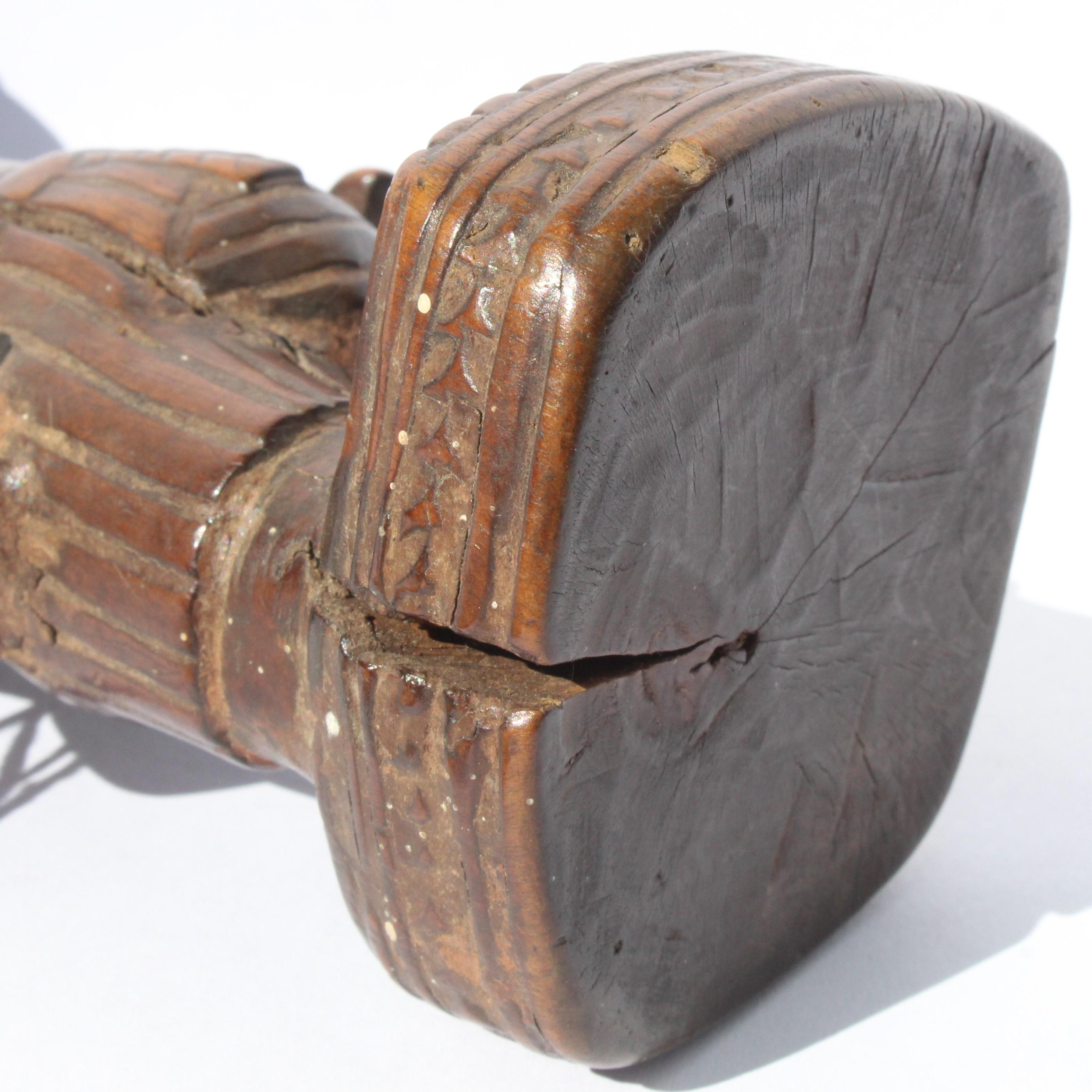 An Ere Ibeji Figure. Abeokuta style, Egba region.