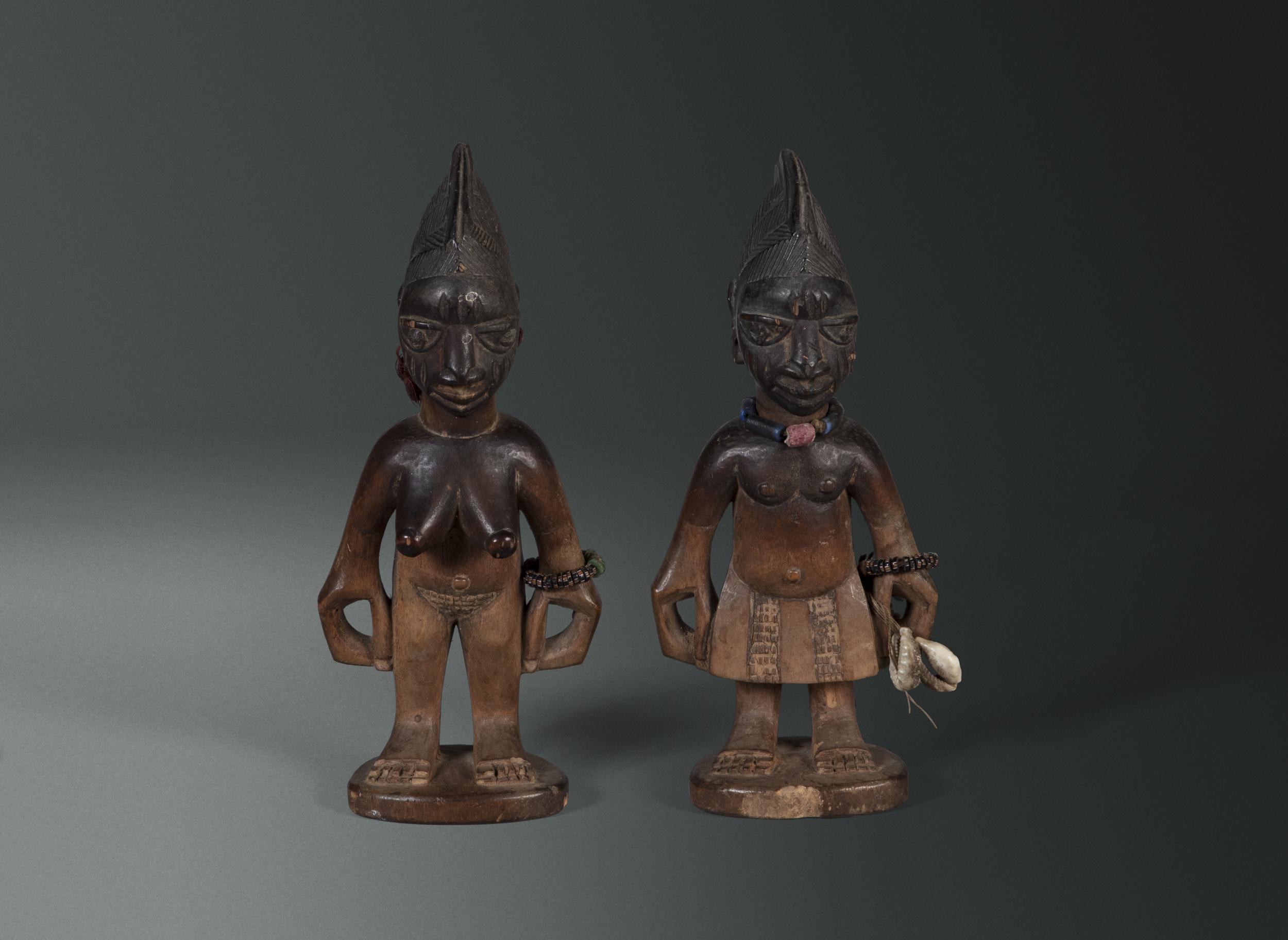 A Pair of Ere Ibeji Twins