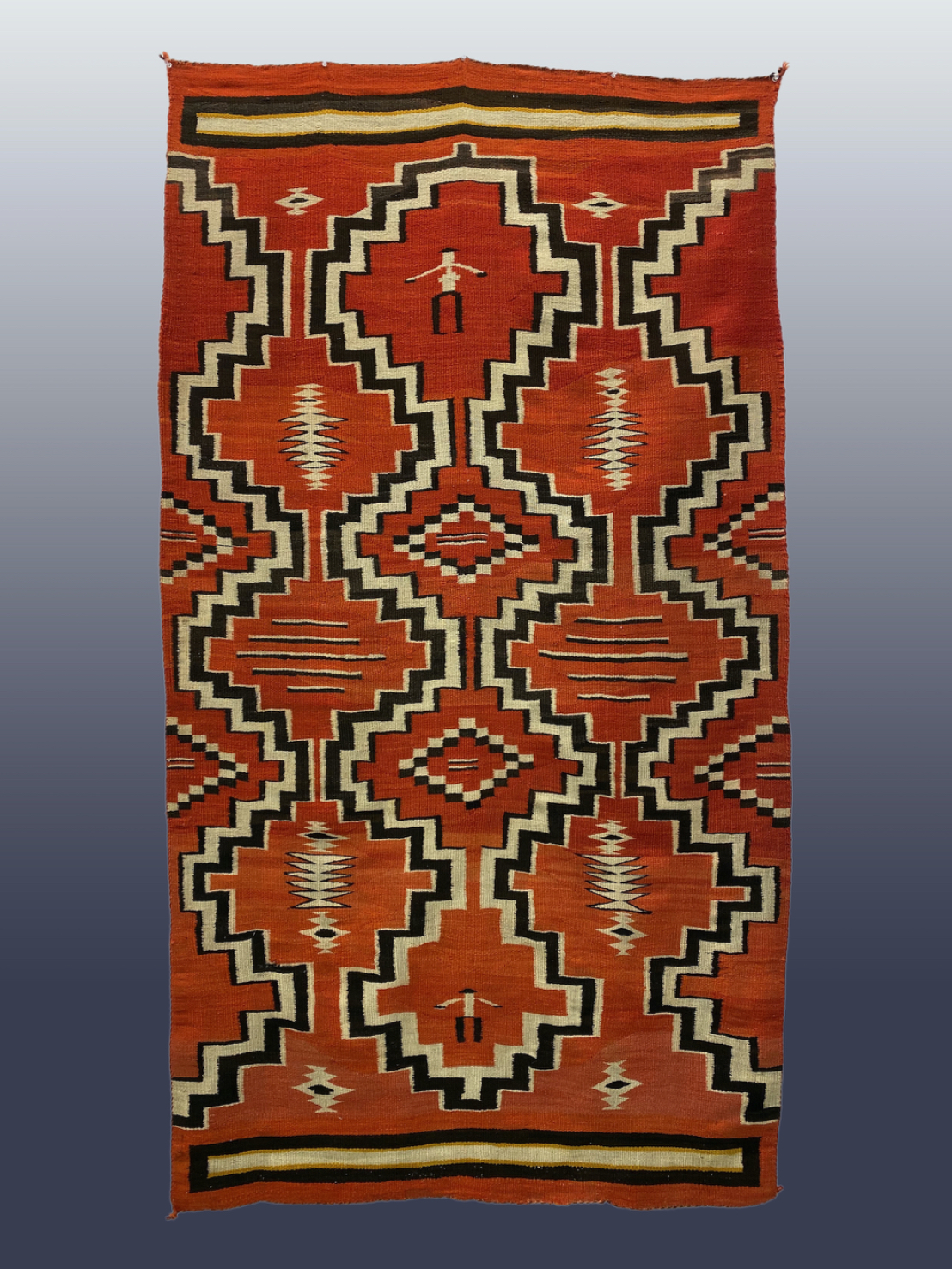 Navajo Pictorial Transitional Blanket