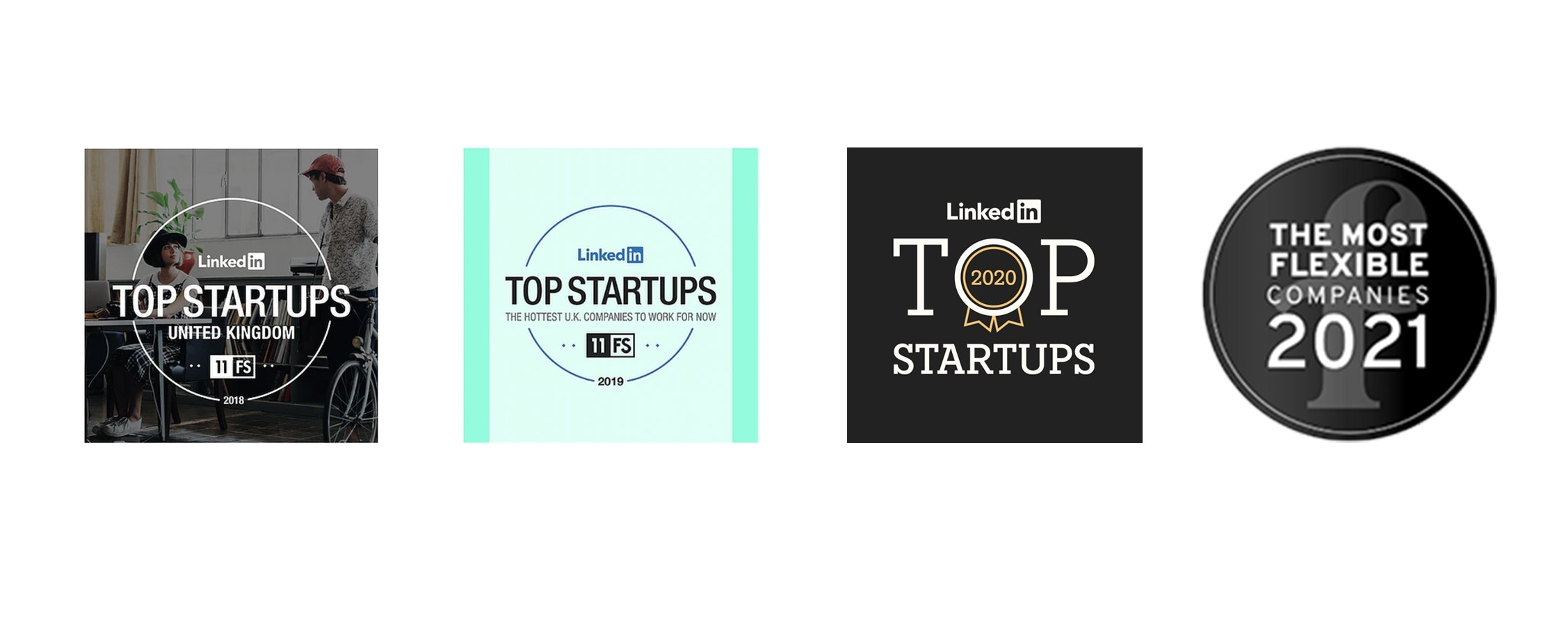 LinkedIn Top Startup Award