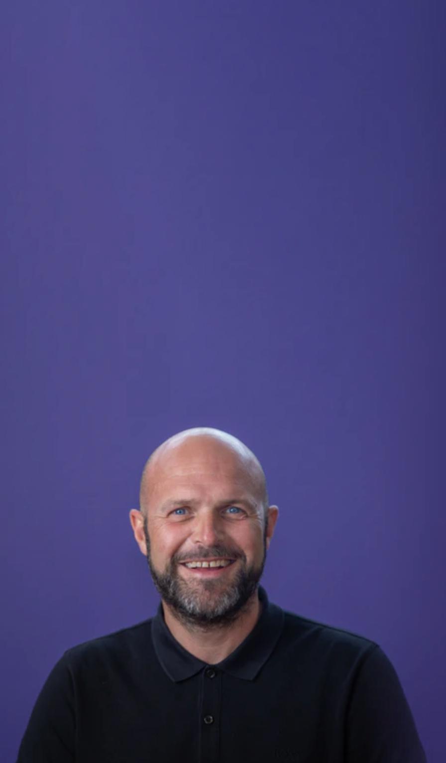 Michael Sherwood, Head of Digital Experience at Atom Bank