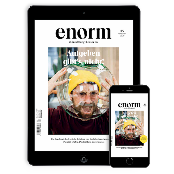 Enorm Magazin Mobile App
