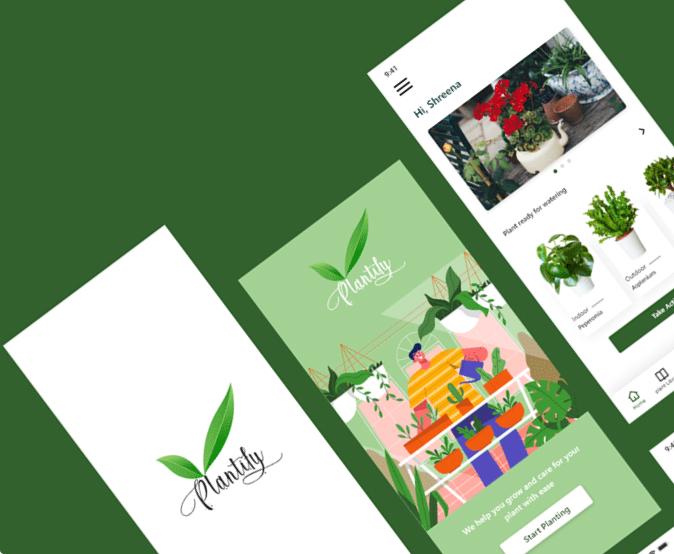 Plantify UX case study - Designwings
