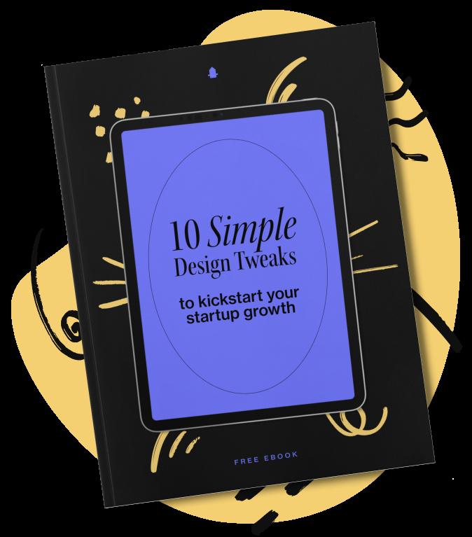 Design tweaks book mockup