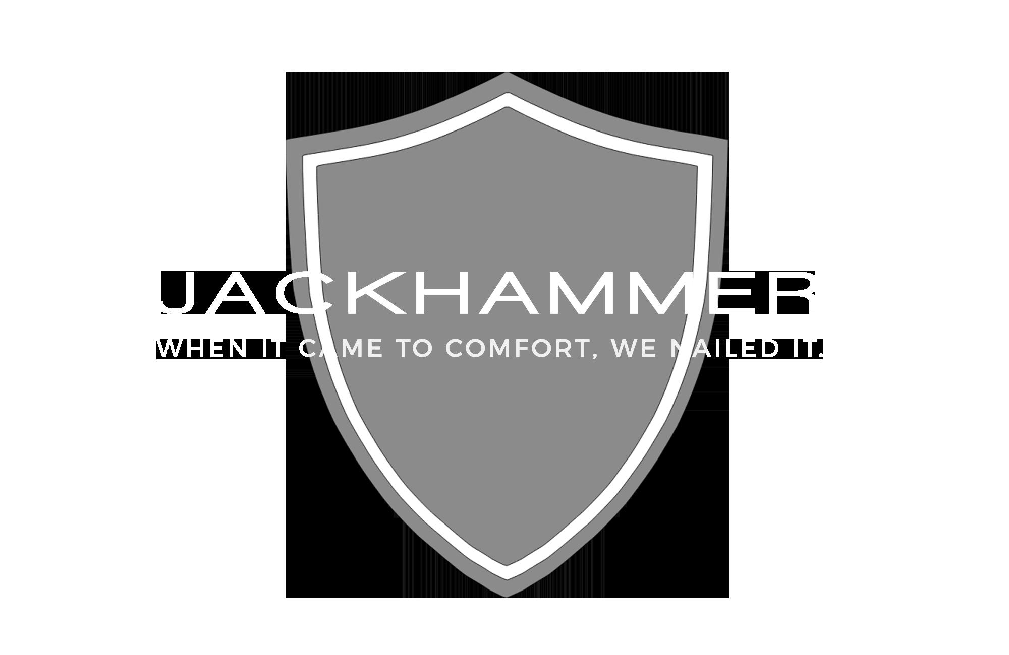 Jackhammer Wear Logo White Transparent NB