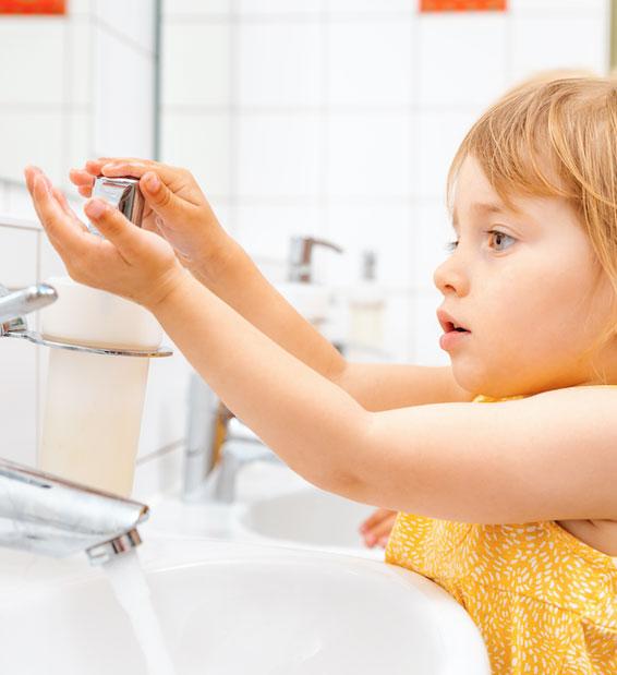 Almost half of children not using proper hand hygiene at school