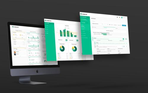 UI and UX design tech company platform