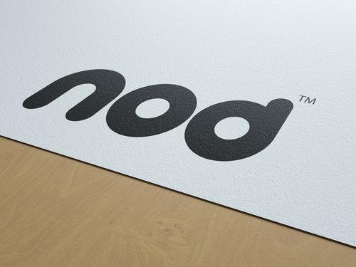 Nod branding mockup