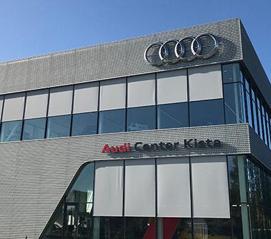 Audis största och modernaste anläggning
