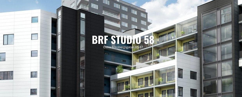 Brf Studio 58 på Eriksberg