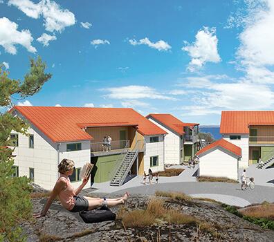Skärgårdshus på Donsö
