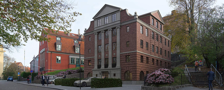 Bostads- och kontorsfastighet på Ekmansgatan