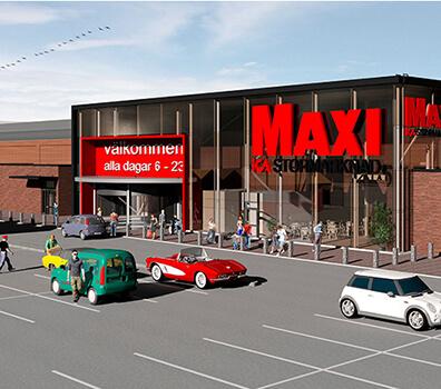 Ombyggnad av Ica-butiker