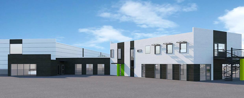 Logistikanläggning och kontor i Vänersborg