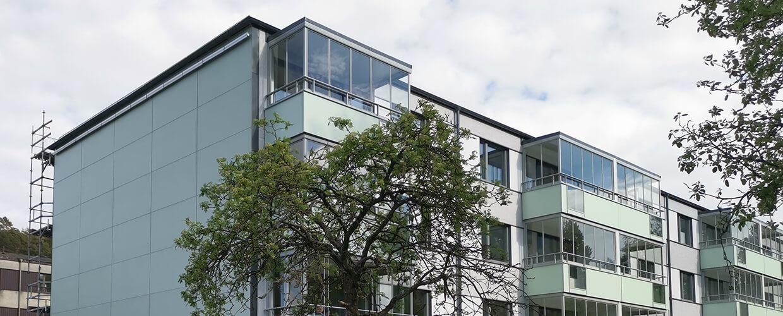 ROT-projekt på Långströmsgatan