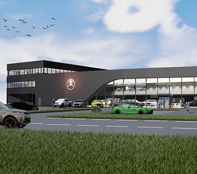 Mercedes i Linköping