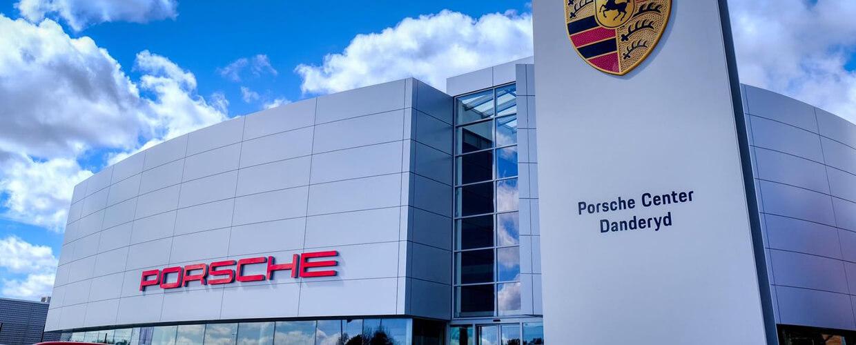 Porsche Center i Danderyd