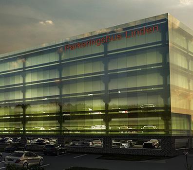 Nytt parkeringshus i Kungsbacka