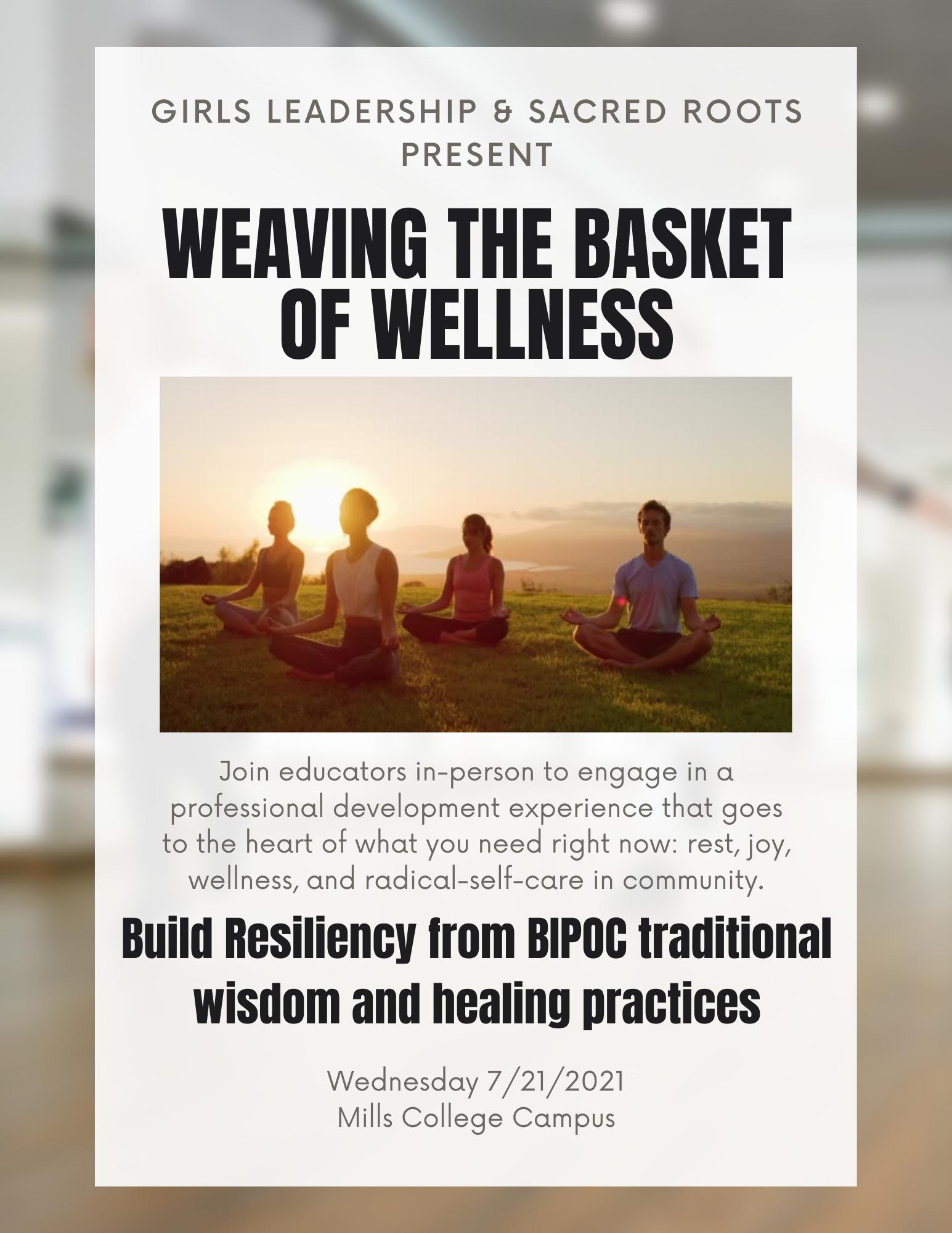 Weaving the Basket of Wellness