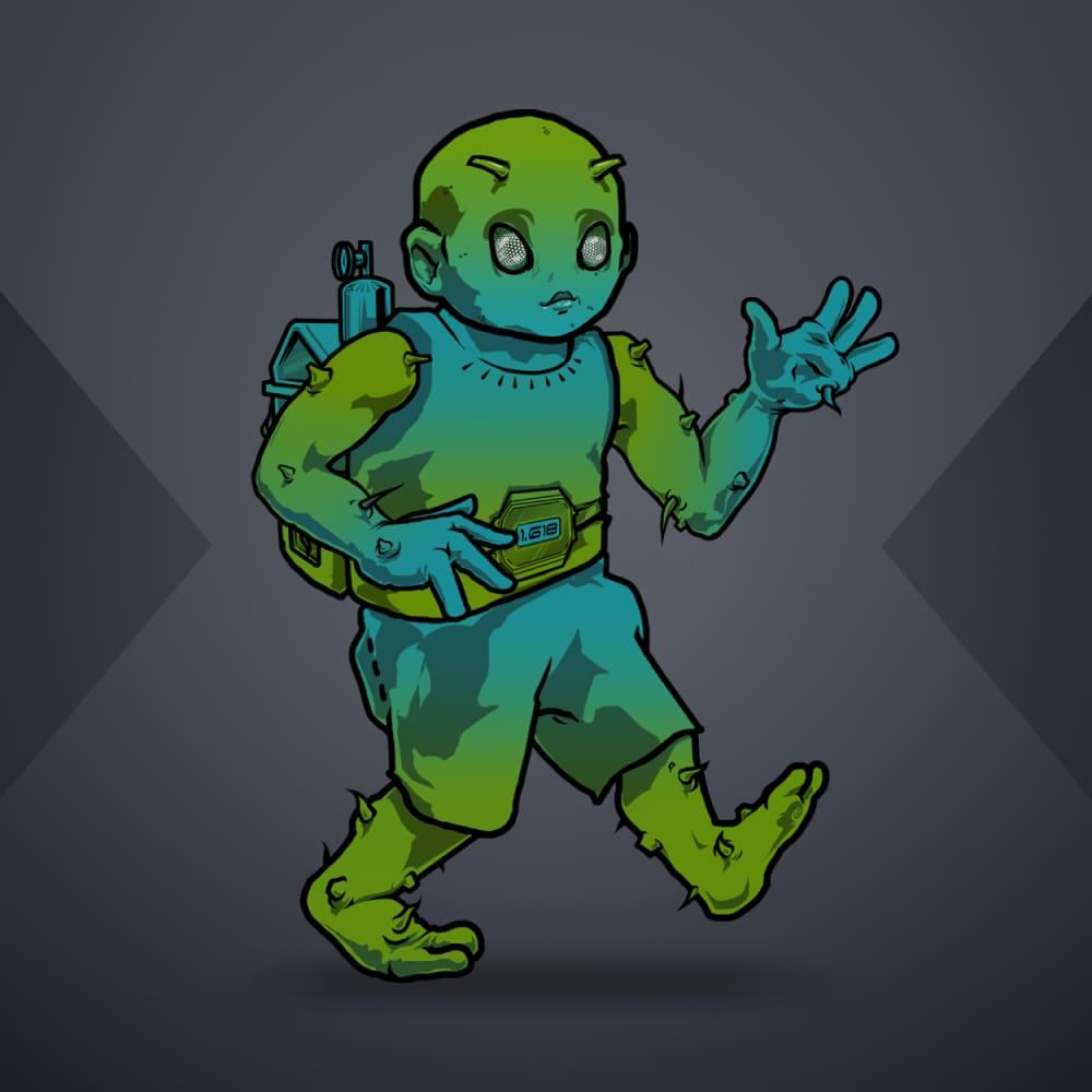 2d alien