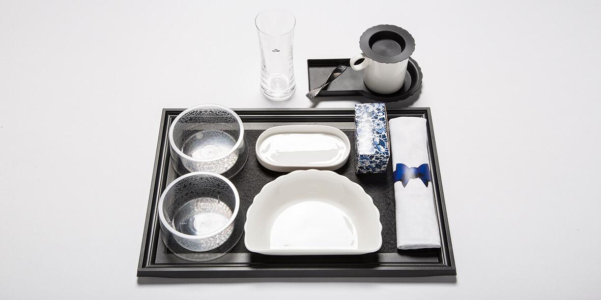 KLM Airplane tableware