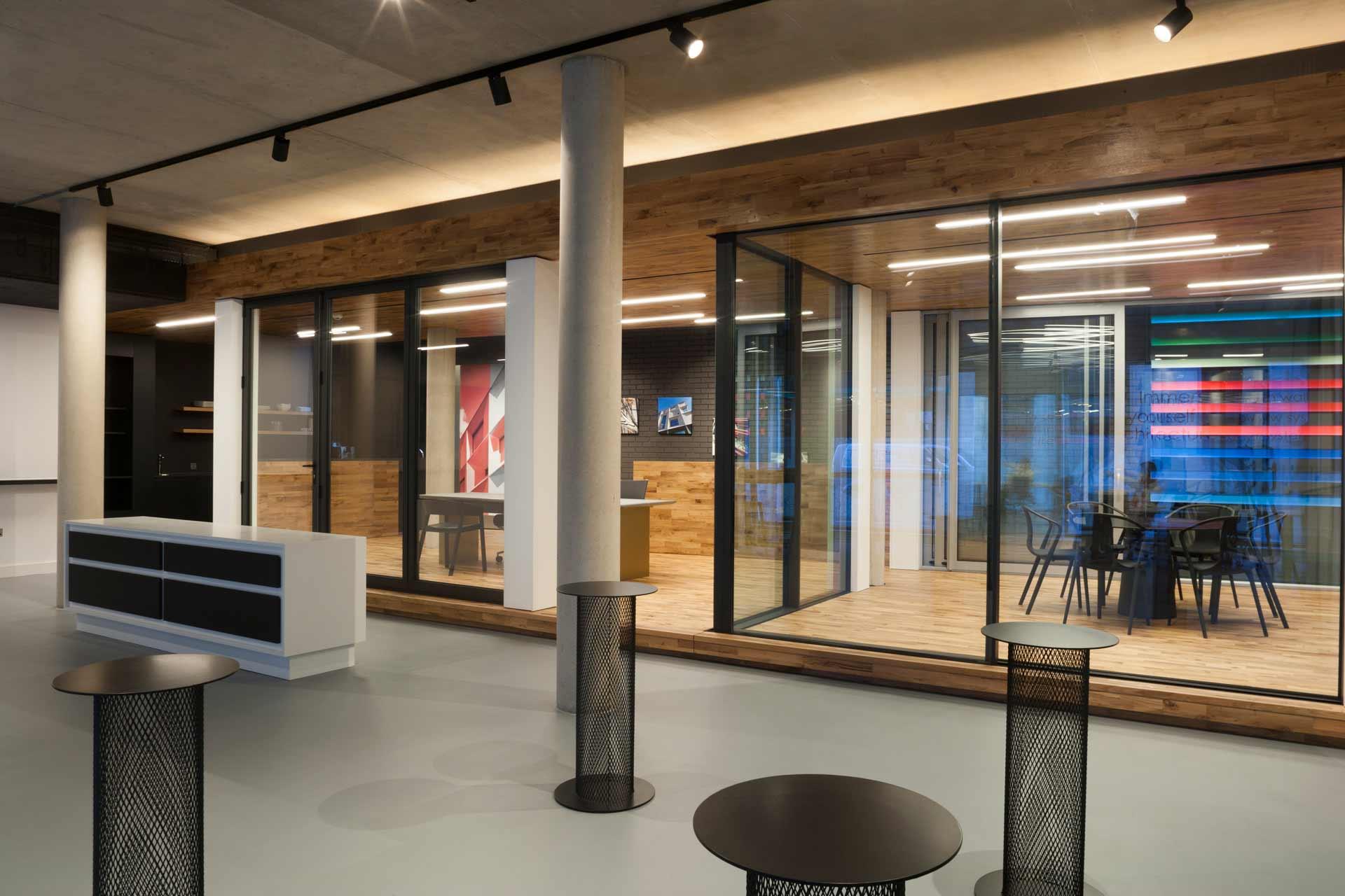 AluK Design Studio spacious interior