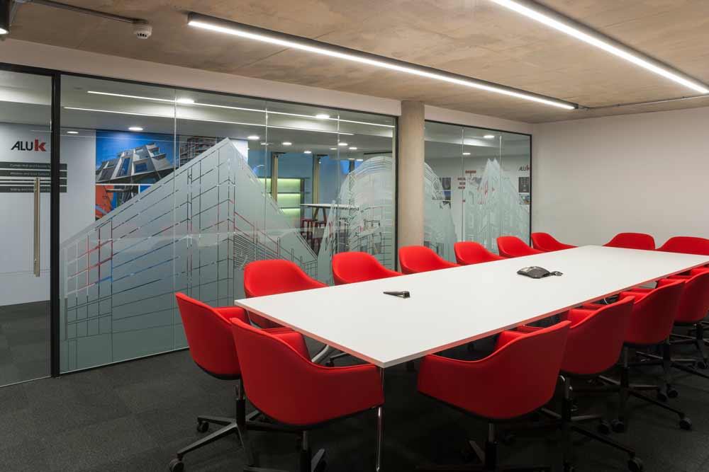 AluK Design Studio meeting spaces