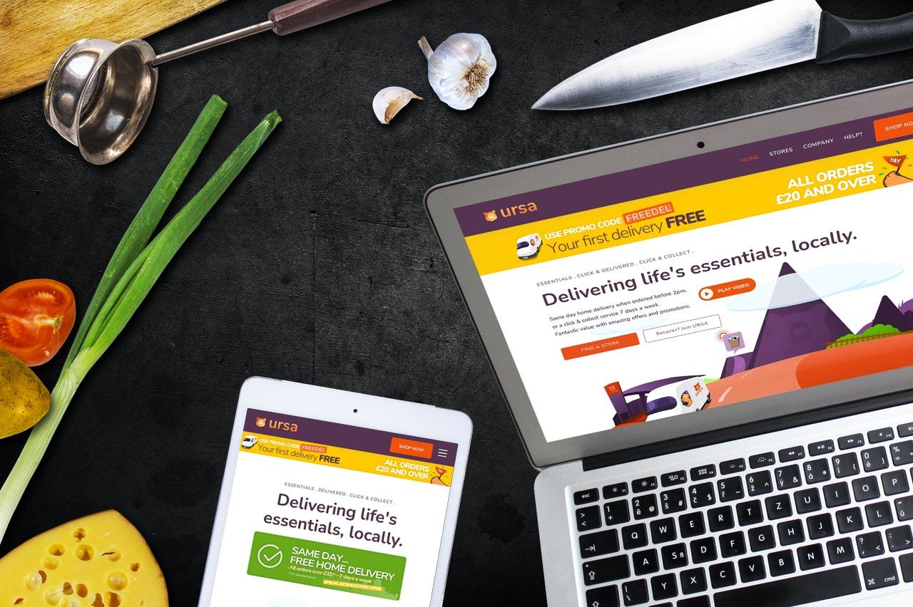 Ascona URSA Home Shopping web app on any device.