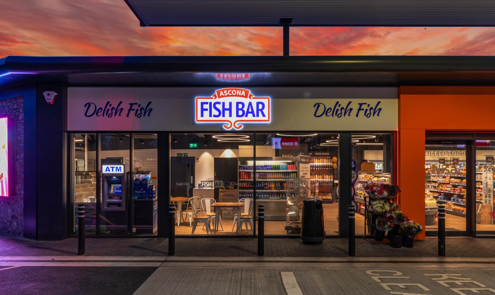 Ascona Fish Bar at the Green Garage Pembroke