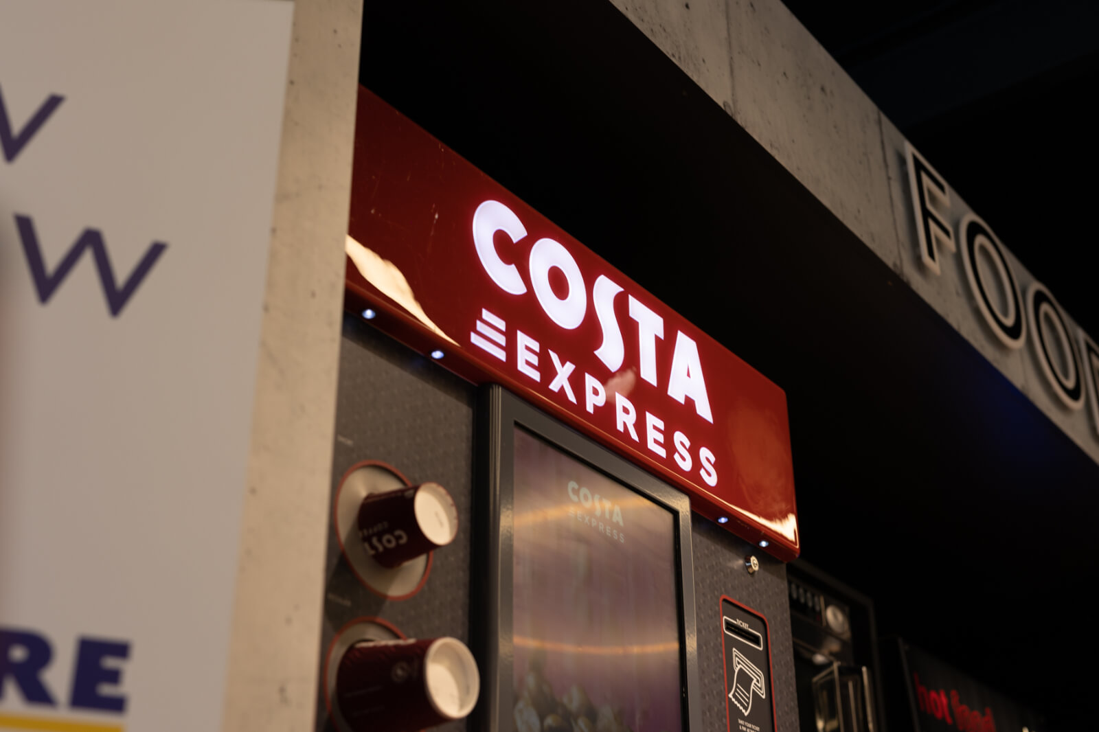 Costa Coffee at Ascona Garages