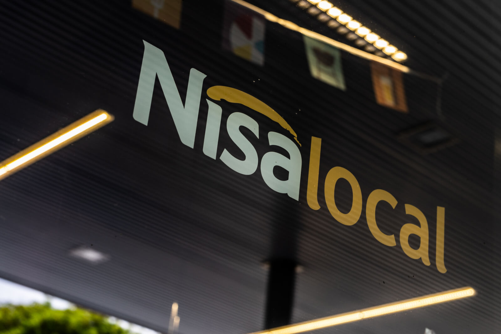 Nisa brand at Ascona garage