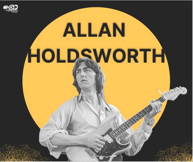 Allan Holdsworth Playing a bass