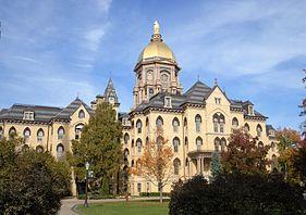 Image result for notre dame golden dome
