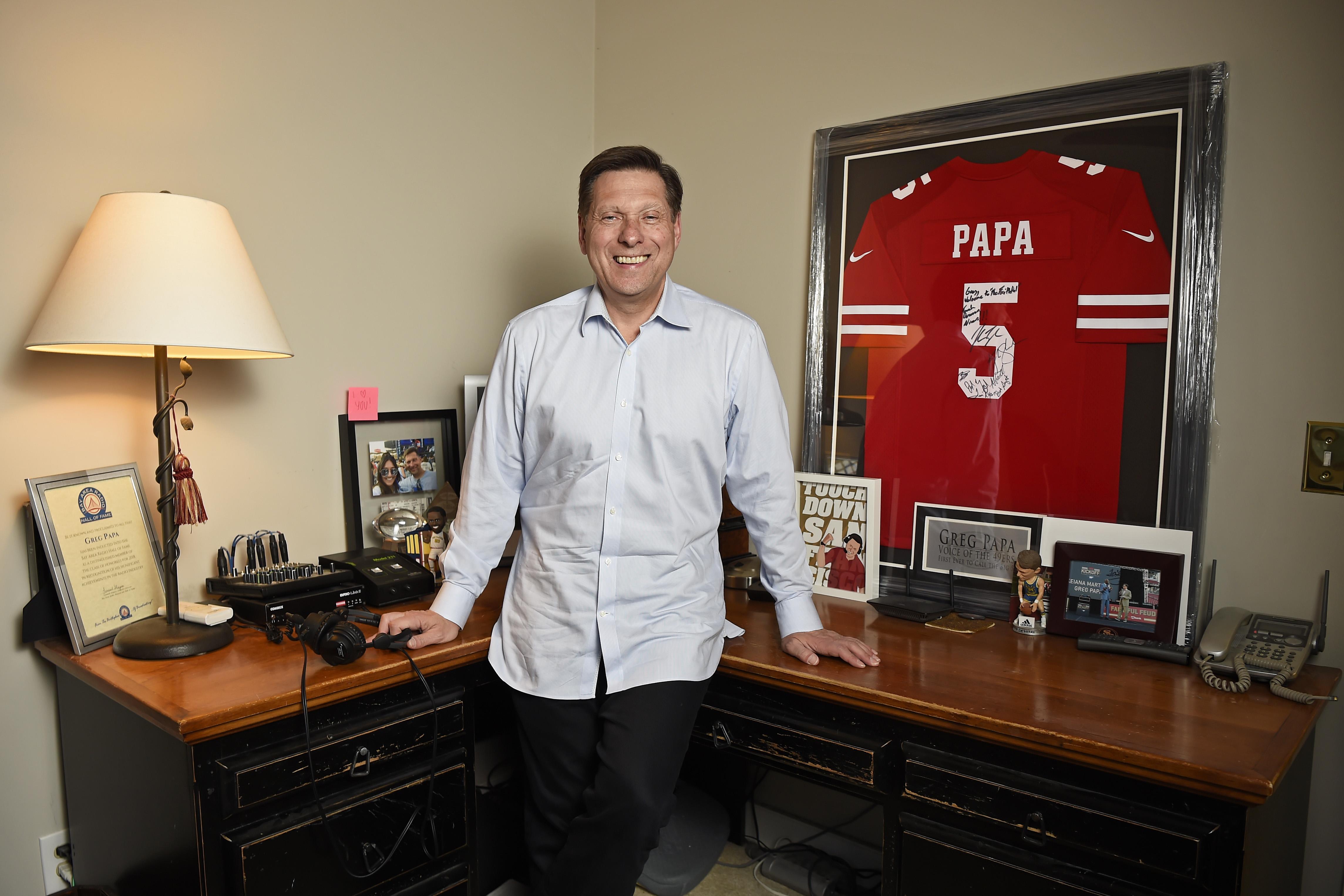 49ers radio voice Greg Papa reflects on 'dream-like' season