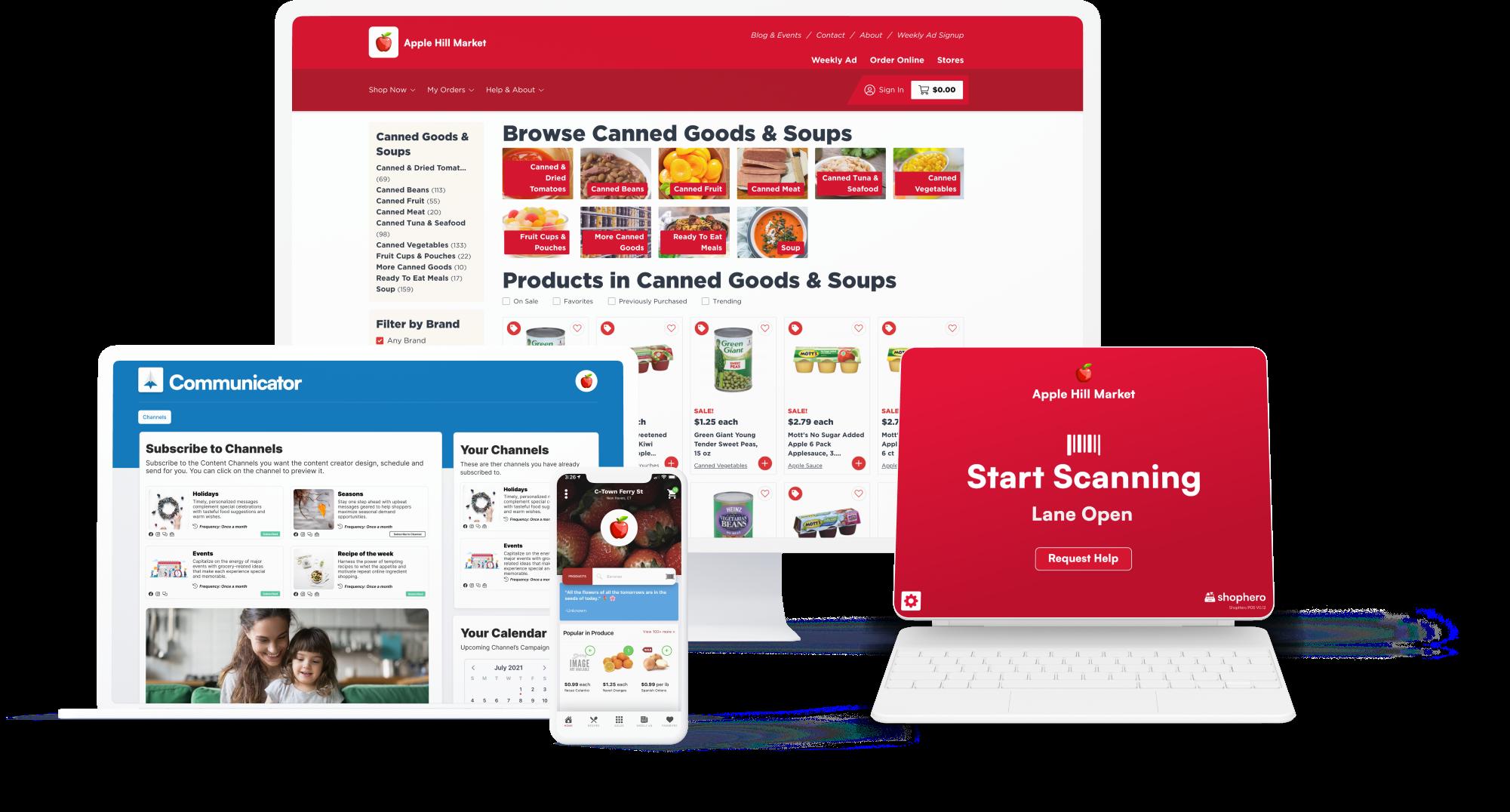 ShopHero Product Devices