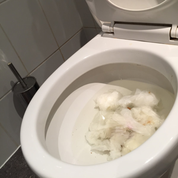 We can unblock your toilet