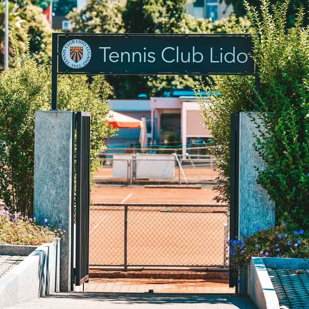 Entrata Tennis Club Lido Lugano
