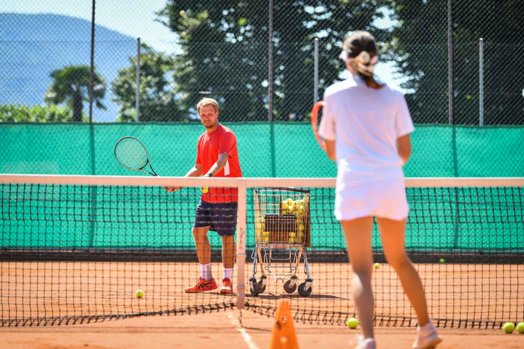 Video dei corsi di tennis