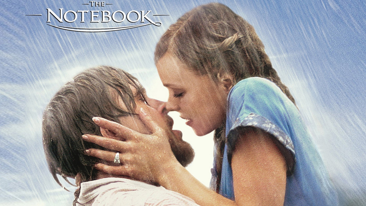The Notebook movie poster is a great example of a frame story.