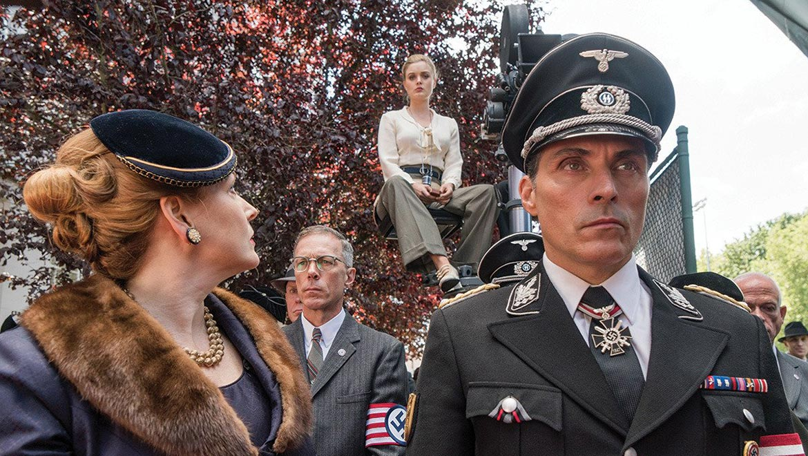 A still from the trailer of The Man In The High Castle.