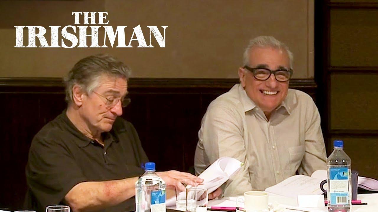The Irishman table read.