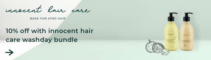 10% off innocent hair care ad space