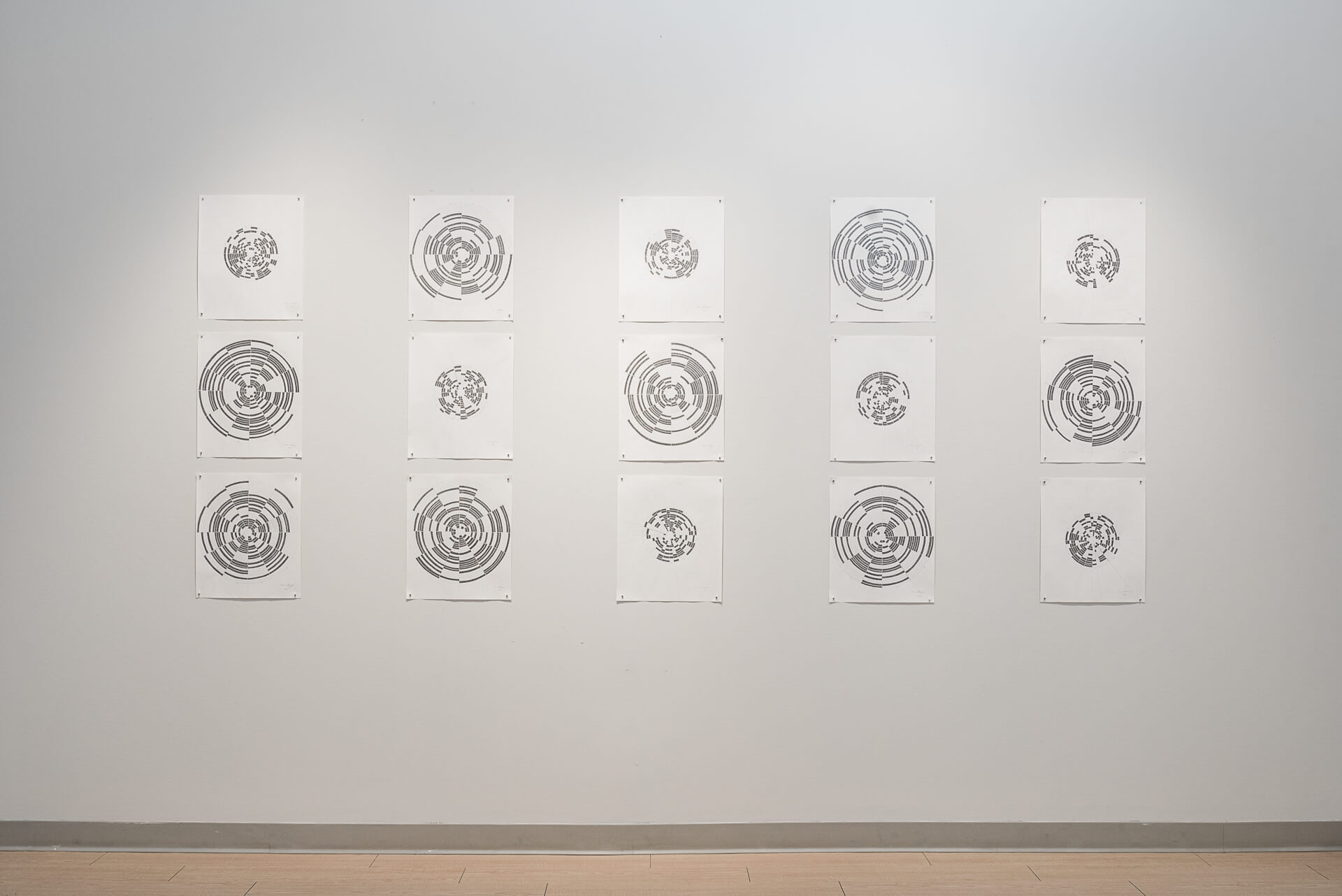 More Time Installation View | Graphite on paper, 24 x 18 inches