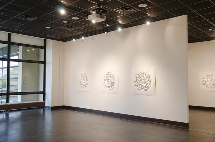 Cliff Gallery Installation views