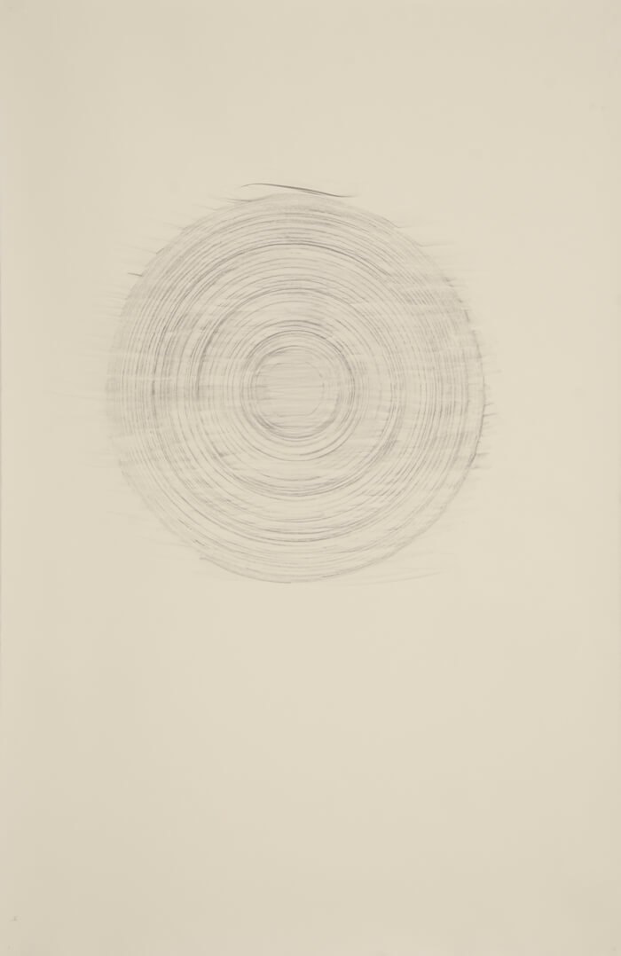 Paper Reel Rubbing HT   graphite on paper, 40 x 26 inches, 2010